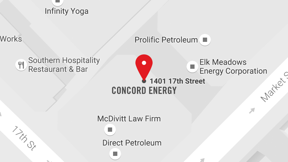 Concord Energy Denver Location